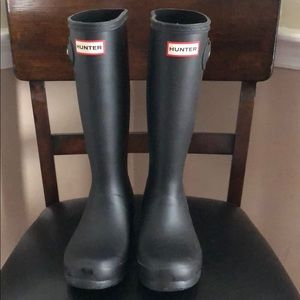 Kids Hunter Boots Size 6